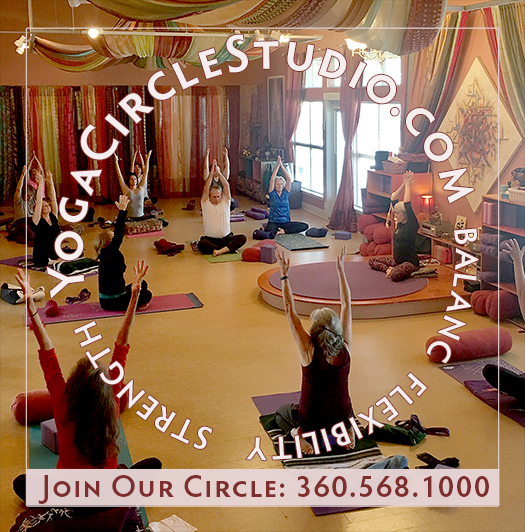 yoga circle studio ad